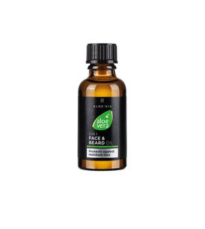 LR ALOE VIA Aloe Vera 2v1 Olej na obličej a vousy - 30 ml