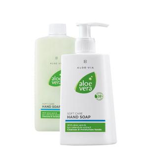 LR Aloe Vera Série na ruce mycí emulze