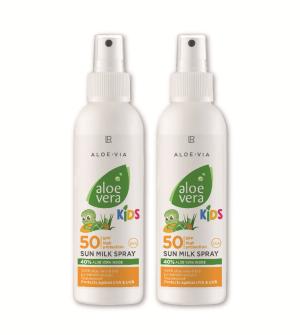 LR Aloe Vera Kids Sun Opalovací mléko pro děti LSF 50 Série 2 ks - 2x 150 ml