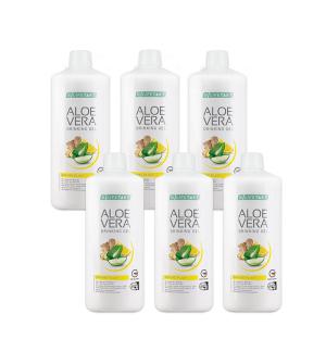 LR Aloe Vera Drinking Gel Immune Plus (zázvor) Série 6 ks x 1 l